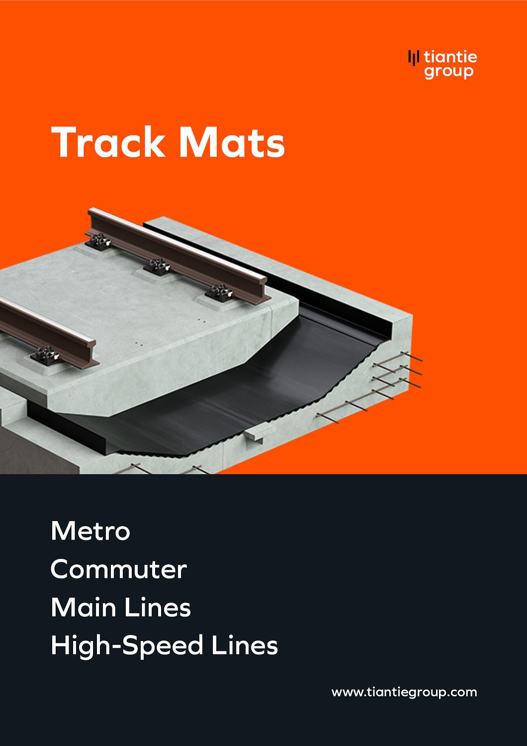 Zhejiang Tiantie Industry Co_Track_Mats-Brochure_Cover