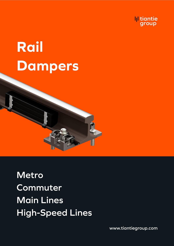 Zhejiang Tiantie Industry Co. Ltd_Rail-Damper-Brochure_Cover